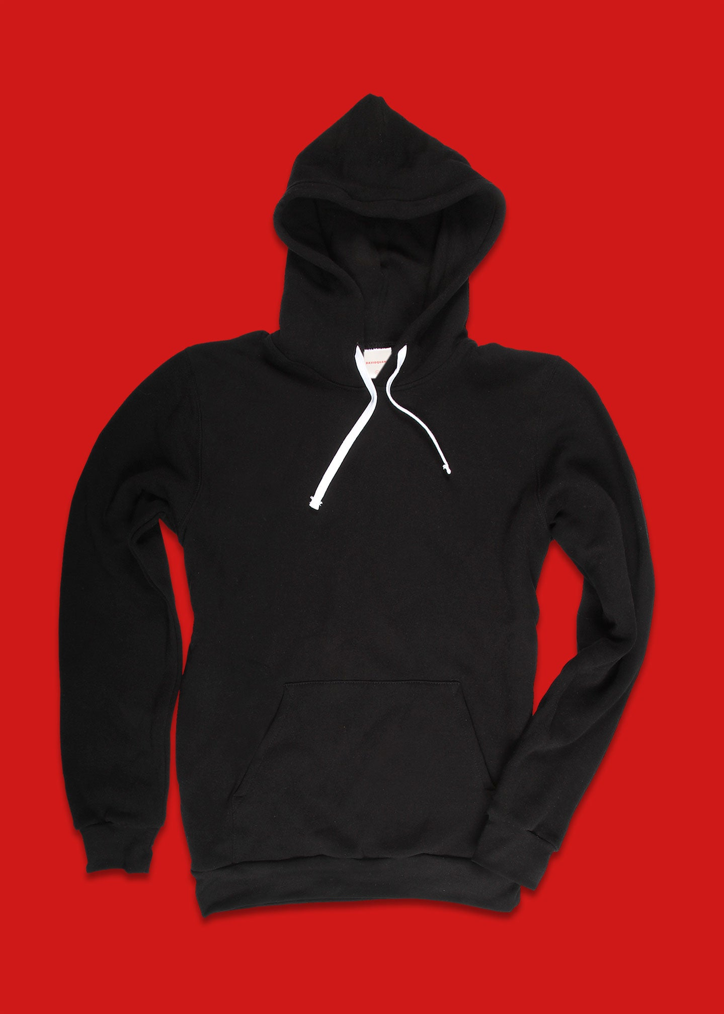 Men's Black Fleece Hoodie
