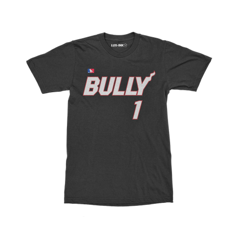 """Bully"" Athletic Cotton T-Shirt"