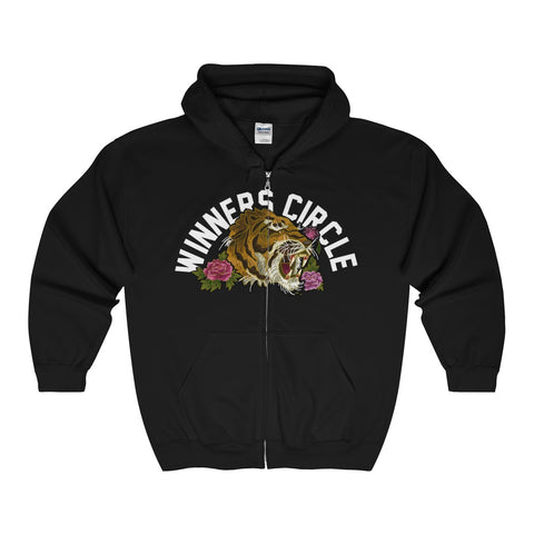 """WC Tiger"" Full Zip Hooded Sweatshirt"