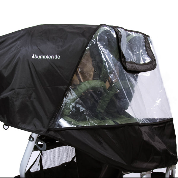 2019 Bumbleride Indie Twin Rain Cover