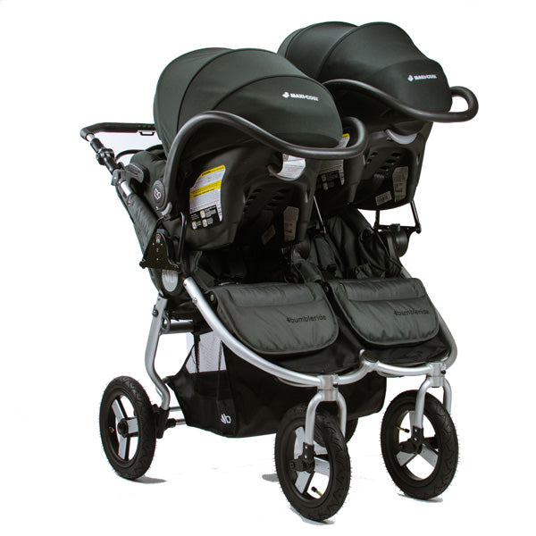 2 Car Seat Double Stroller Bumbleride Indie Twin