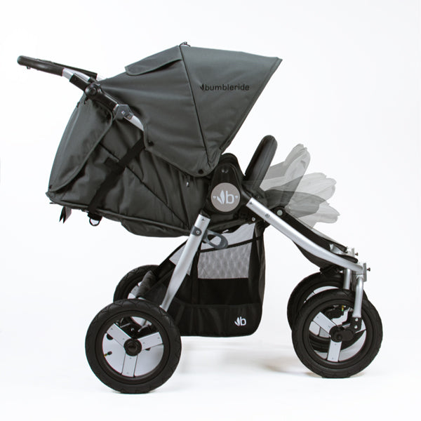 Infant ready double stroller- Infant mode bumbleride indie twin stroller