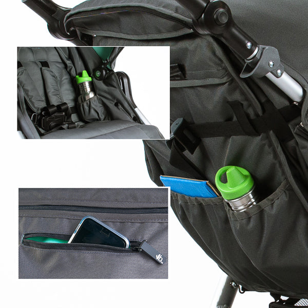 Stroller with extra storage - Bumbleride Indie All Terrain Stroller