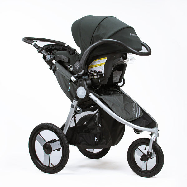2017 Bumbleride Speed Car Seat Attached