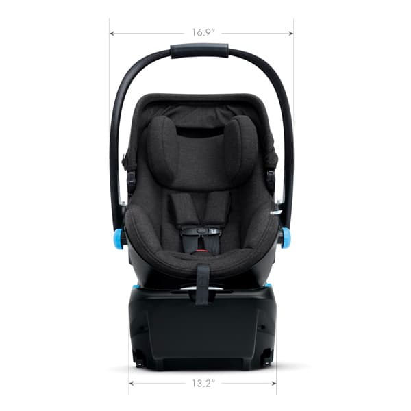 2020 Clek Liing Infant Seat Dimensions - Facing Front