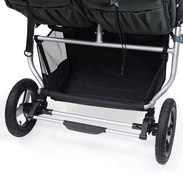 Double stroller with storage - Bumbleride Indie Twin