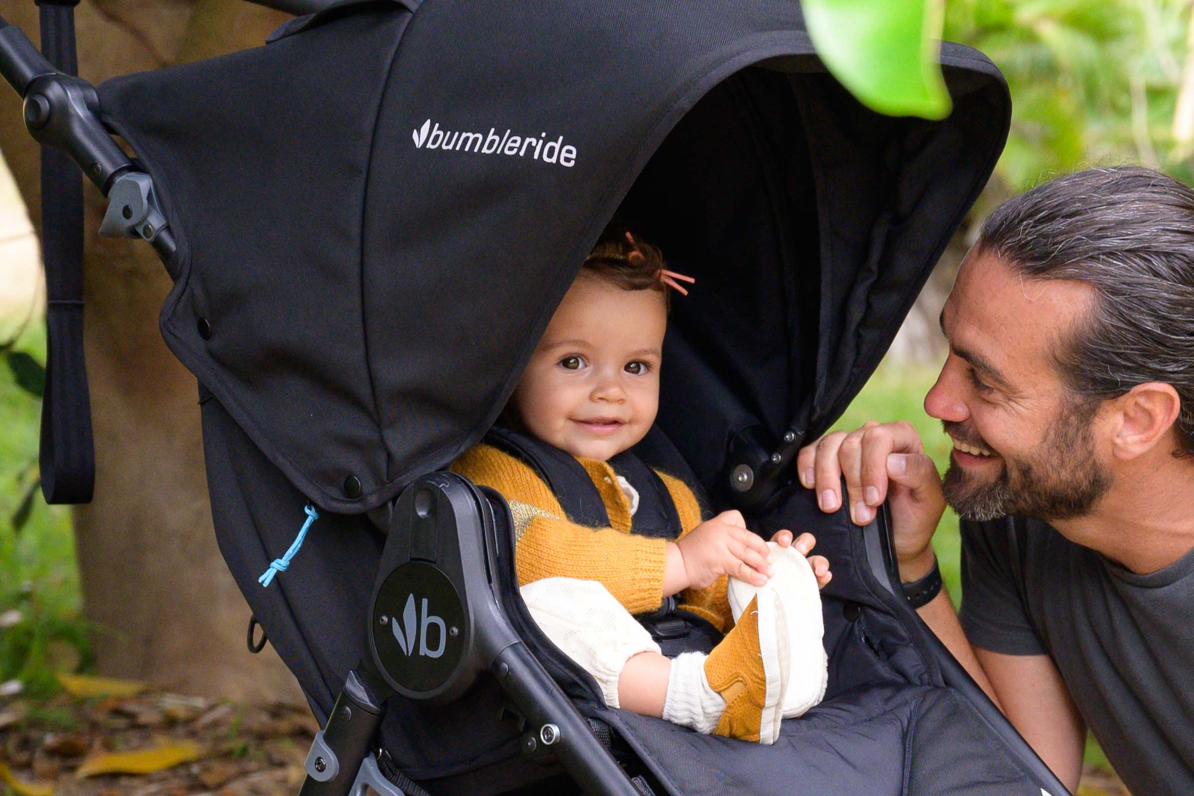 2020 Bumbleride Speed Running Stroller on Dirt Trail 3 of 3