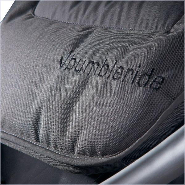 Bumbleride Fabric is fade resistant (black colorways)