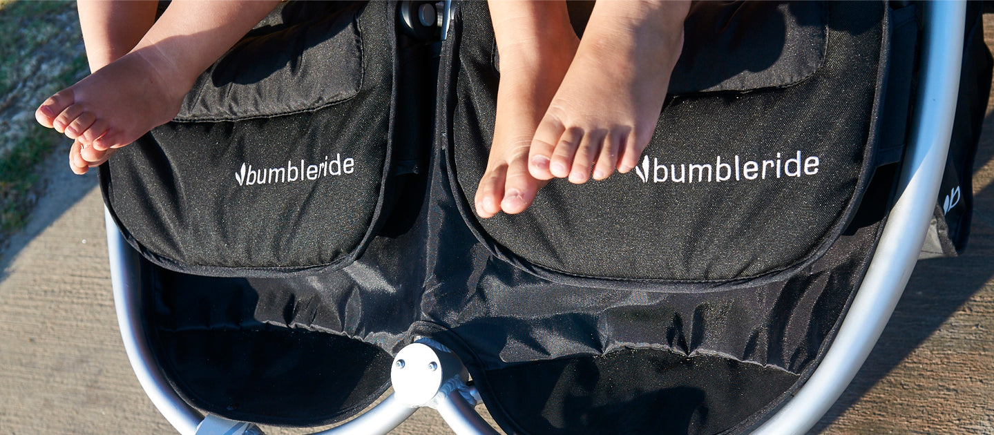 2017 Bumbleride Indie Twin Eco Fabric Features
