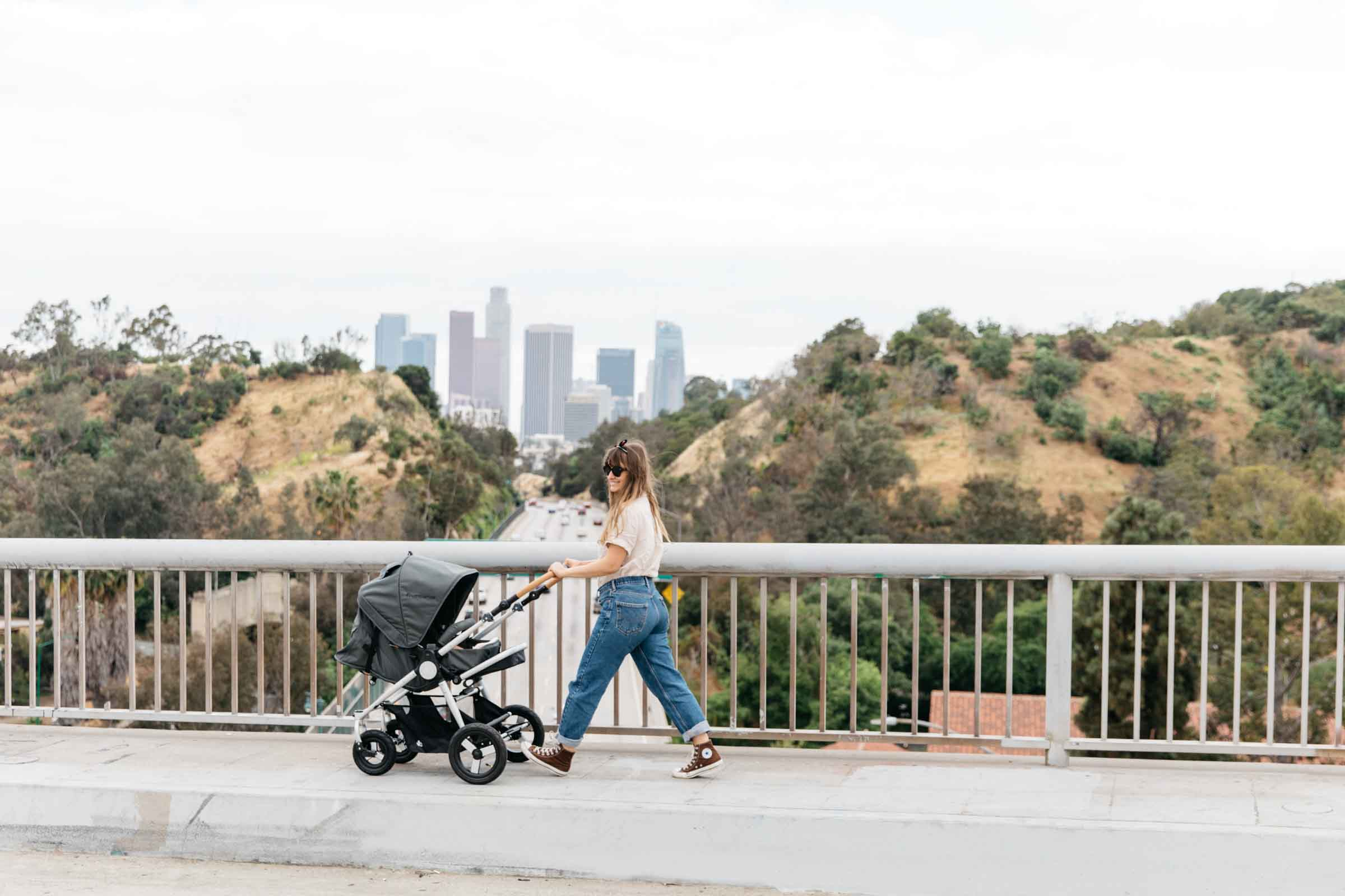 Era Reversible Seat Stroller in the city