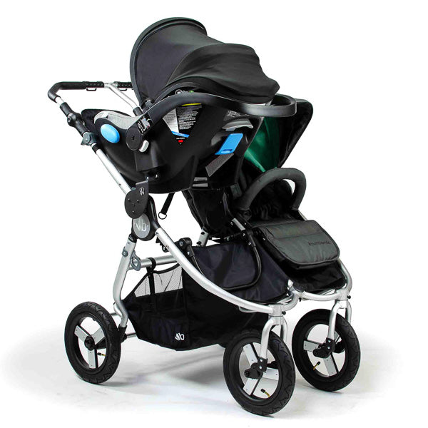 Indie Twin Double Stroller Maxi Cosi Cybex Nuna Car Seat Adapter Single