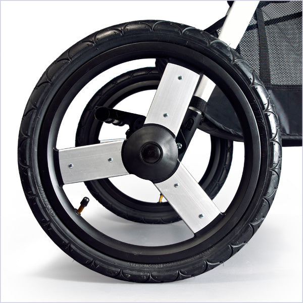 2019 Bumbleride Speed Air Filled Wheels 16 inch rear and 12 inch front