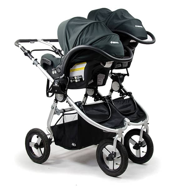 Double Stroller with Dual Car Seats 2017 Bumbleride Indie Twin