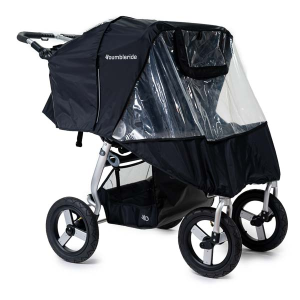 2020 Bumbleride Indie Twin Double Stroller Rain Cover