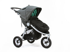 Bumbleride Cold Weather Footmuff On Indie All Terrain Stroller