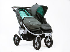 Bumbleride Footmuff & Seat Liner 2018 on Indie Twin Double Stroller Global