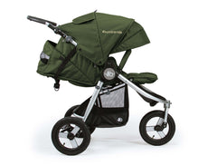Bumbleride Indie All Terrain Stroller Camp Green Profile View