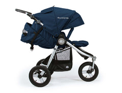 2019 Bumbleride Indie All Terrain Stroller Maritime Blue Profile View
