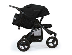 Bumbleride Indie All Terrain Stroller Matte Black Profile View