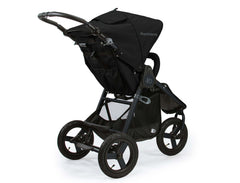 Bumbleride Indie All Terrain Stroller Matte Black Rear View