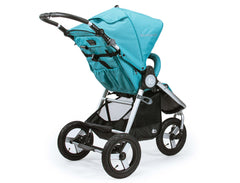 2018 Bumbleride Indie All Terrain Stroller - Tourmaline Wave - Rear View