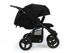 Bumbleride Indie Twin Double Stroller Matte Black Profile View