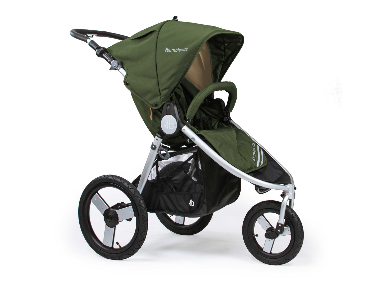 2018 Bumbleride Speed Jogging Stroller - Camp Green