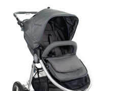 2020 Bumbleride Seat Liner in Dawn Grey On Stroller Global