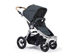 Bumbleride Era Reversible Seat Stroller Dawn Grey Seat Forwards