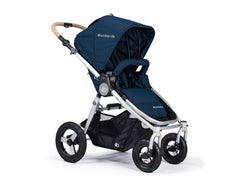 Bumbleride Era Reversible Seat Stroller Maritime Blue Seat Forwards