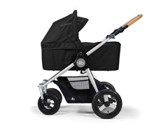 Bumbleride Era Reversible Seat Stroller Silver Black - Available At Select Stores with Bassinet Accessory