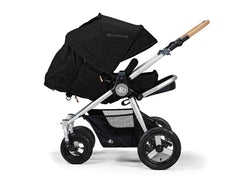 Bumbleride Era Reversible Seat Stroller Silver Black - Available At Select Stores Seat Reversed Infant Mode