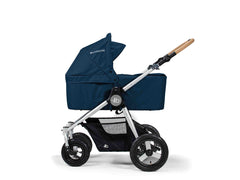 Bumbleride Single Bassinet in Maritime Blue on Era Modular Stroller