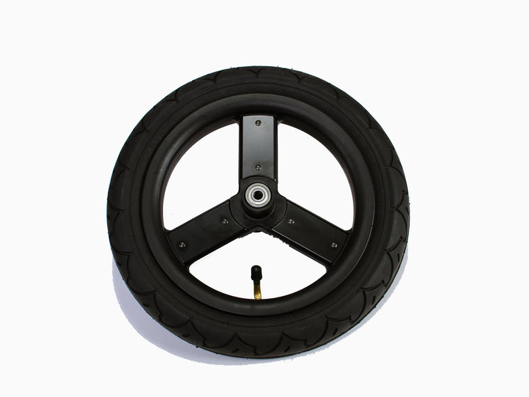 2016-2020 Matte Black Indie/ Speed/ Indie Twin Front Wheel