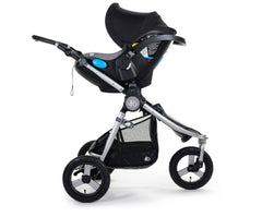 2020 Clek Liing on Bumbleride Indie Stroller No Fabric (Optional)