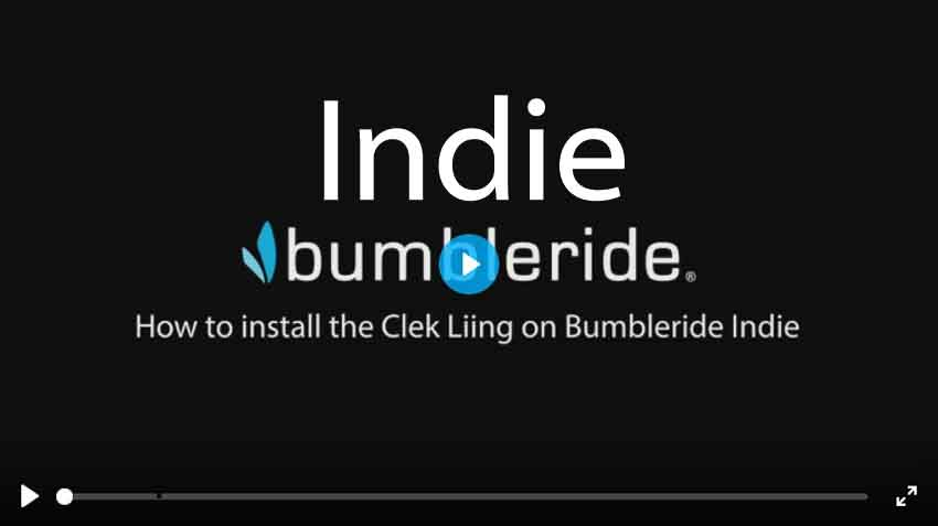 How To Install Clek Liing Car Seat on Bumbleride Indie All Stroller Video