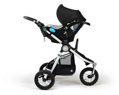 Clek Liing on Bumbleride Indie Stroller No Fabric (Optional)
