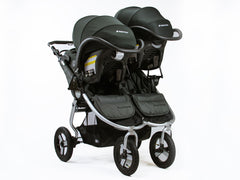 Bumbleride Indie Twin with Dual Car Seats - Maxi Cosi, Cybex, Nuna