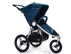 2020 Bumbleride Speed Jogging Stroller in Maritime Blue - Front