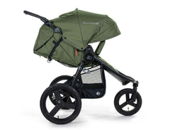 2020 Bumbleride Speed Jogging Stroller in Olive Green - Profile