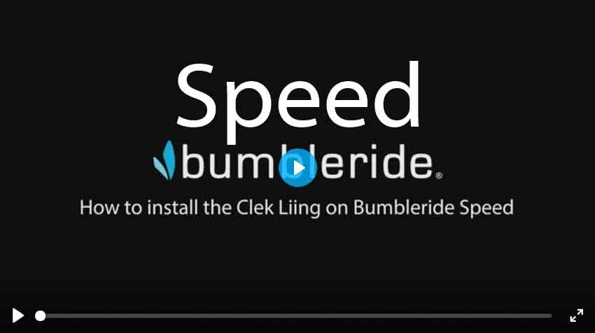 How To Install Clek Liing Car Seat on Bumbleride Speed Stroller Video