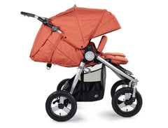 2020 Bumbleride Indie Twin Double Stroller in Clay - Profile