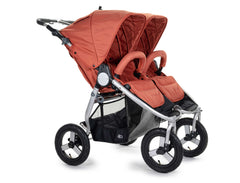 2020 Bumbleride Indie Twin Double Stroller in Clay - Front