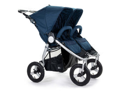 2020 Bumbleride Indie Twin Double Stroller in Maritime Blue - Front