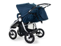 2020 Bumbleride Indie Twin Double Stroller in Maritime Blue - Back