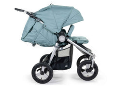 2020 Bumbleride Indie Twin Double Stroller in Sea Glass - Profile