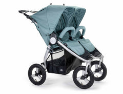 2020 Bumbleride Indie Twin Double Stroller in Sea Glass - Front