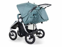 2020 Bumbleride Indie Twin Double Stroller in Sea Glass - Back