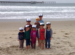 Bumbleride Beach Cleanup and Trucker Hats