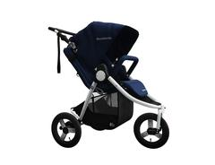 2020 Bumbleride Indie All Terrain Stroller 3D in Maritime Blue Global